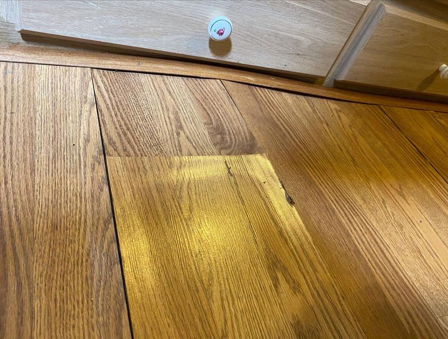 Water Damaged Hardwood Flooring